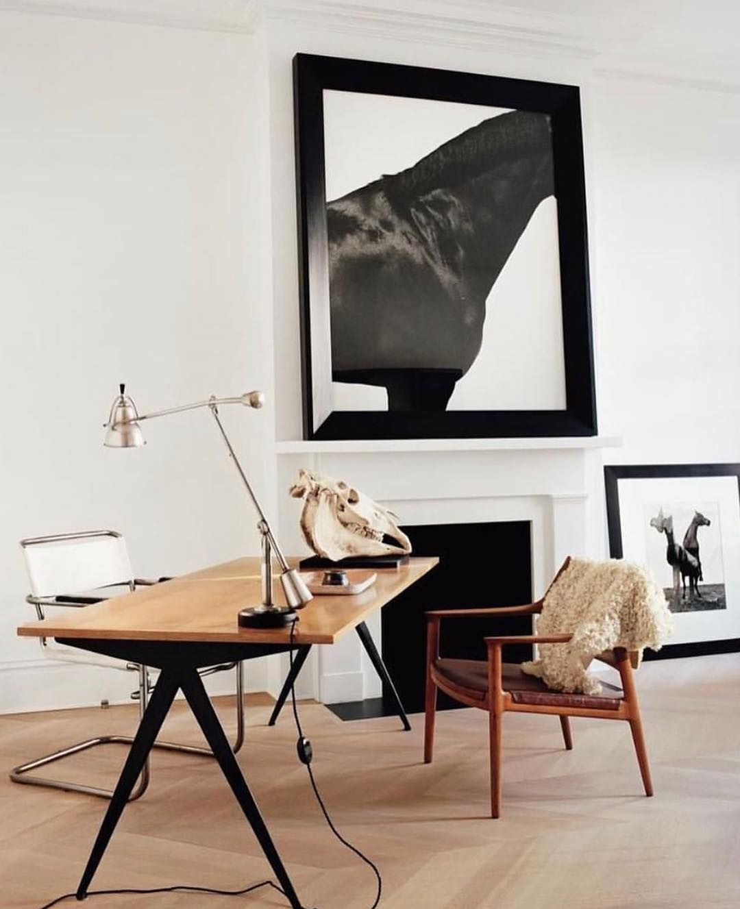 Minimal Interiordesign Office: David Brian Sanders On Instagram: #jeanprouv #jeanprouve