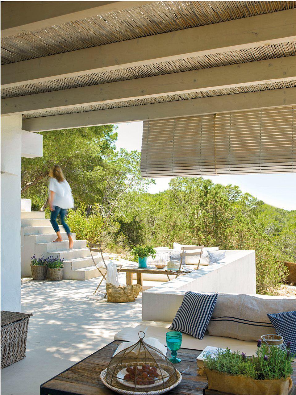 verano en el porche deco maroc pinterest veranda maison et jardins. Black Bedroom Furniture Sets. Home Design Ideas