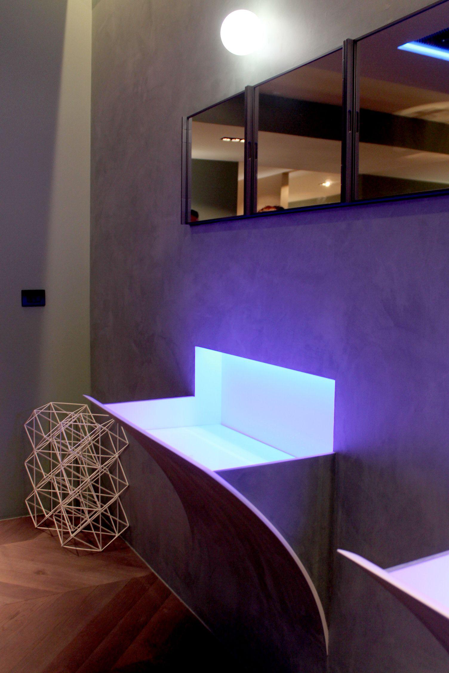 Antonio Lupi wall basins Strappo wall sink - Salone del Mobile ...