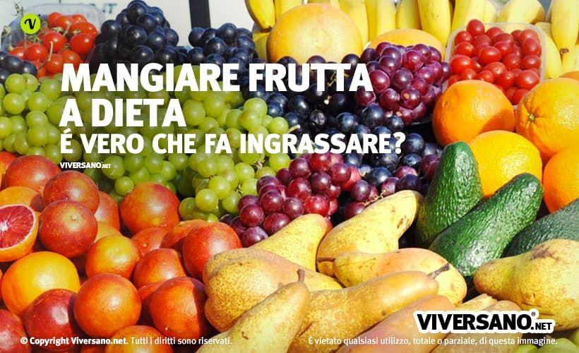 frutta usata per bruciare i grassi