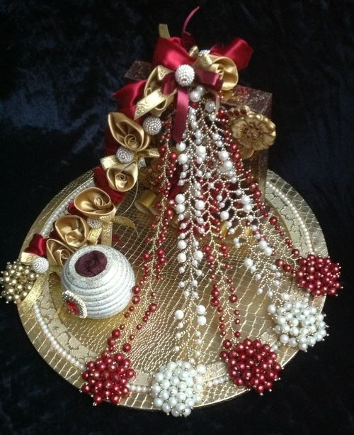 Indian Wedding Tray Decoration: Ring Platter - Google Search