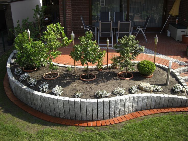 Terrace individually designed - we plan with you on site your new garden. With natural stone   - Garden Design ideas -  -