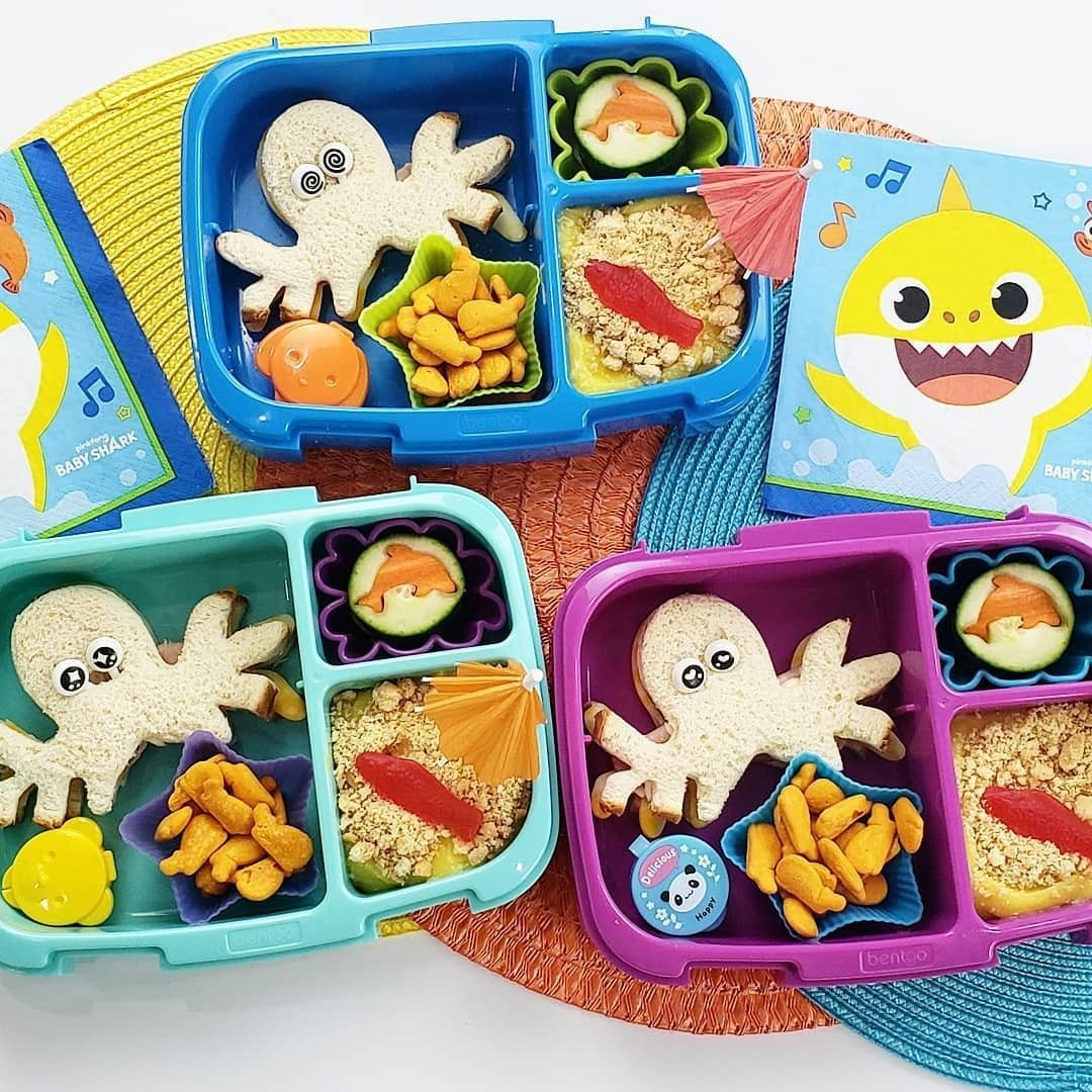Underwater Themed Bentgo Kids Lunch Box Take Your Kids On An Underwater Adventure With These Cute Sea Ocea Bentgo Kids Lunch Boxes Bentgo Kids Butterfly Snacks