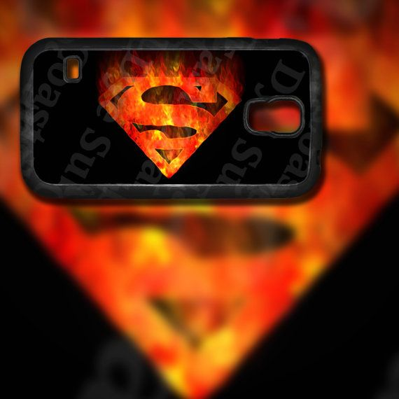 Superman Flame Inspired Design on Samsung by EastCoastDyeSub
