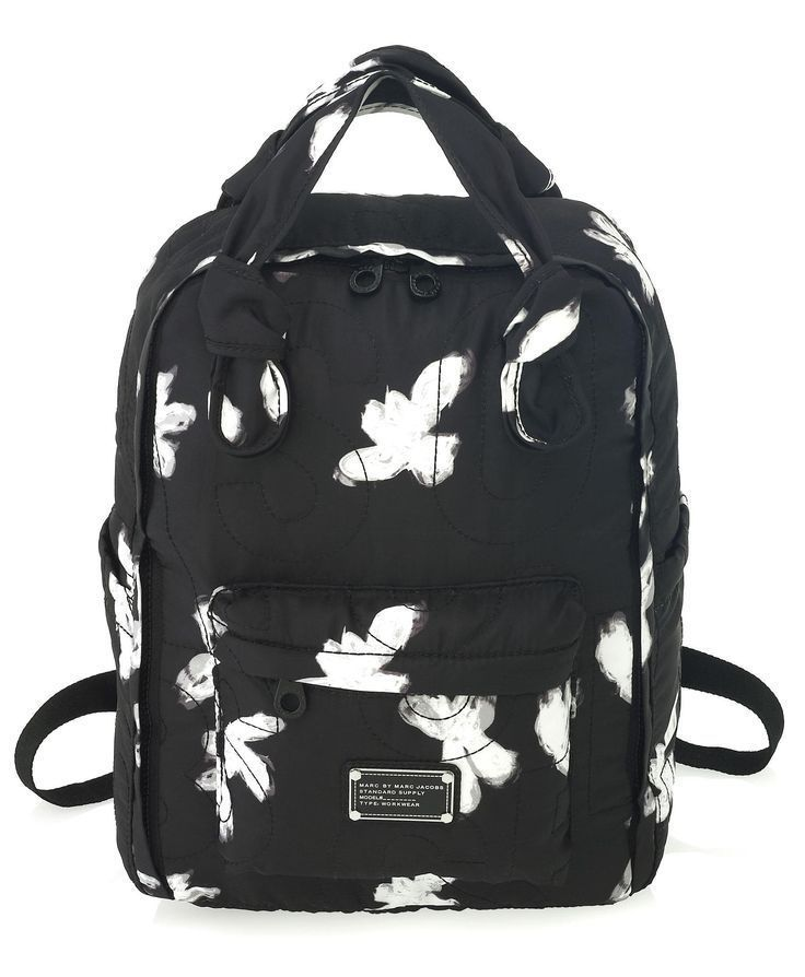 6a88313ecac8 NWT MARC BY MARC JACOBS PRETTY NYLON PAINTED FLOWER BACKPACK KNAPSACK   MarcByMarcJacobs  BackpackStyle