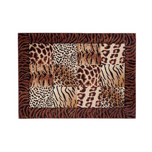 Photo of Teppich Taurean in Braun 17 Stories Teppichgröße: Rechteck: 140 x 200 cm