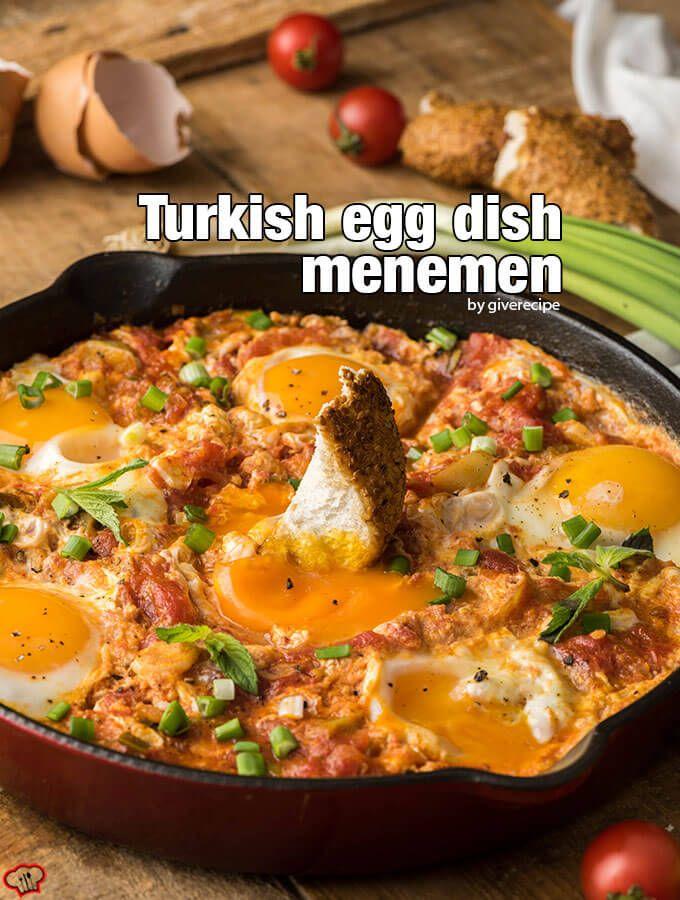 Turkish Egg Dish Menemen Recipe Menemen Recipe Turkish