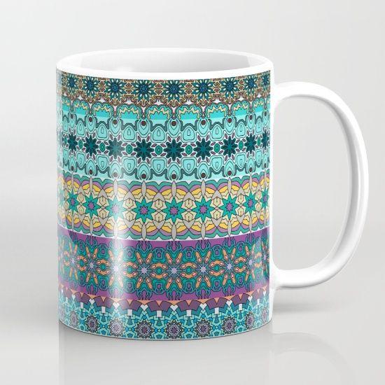 Tribal striped abstract pattern design Mug