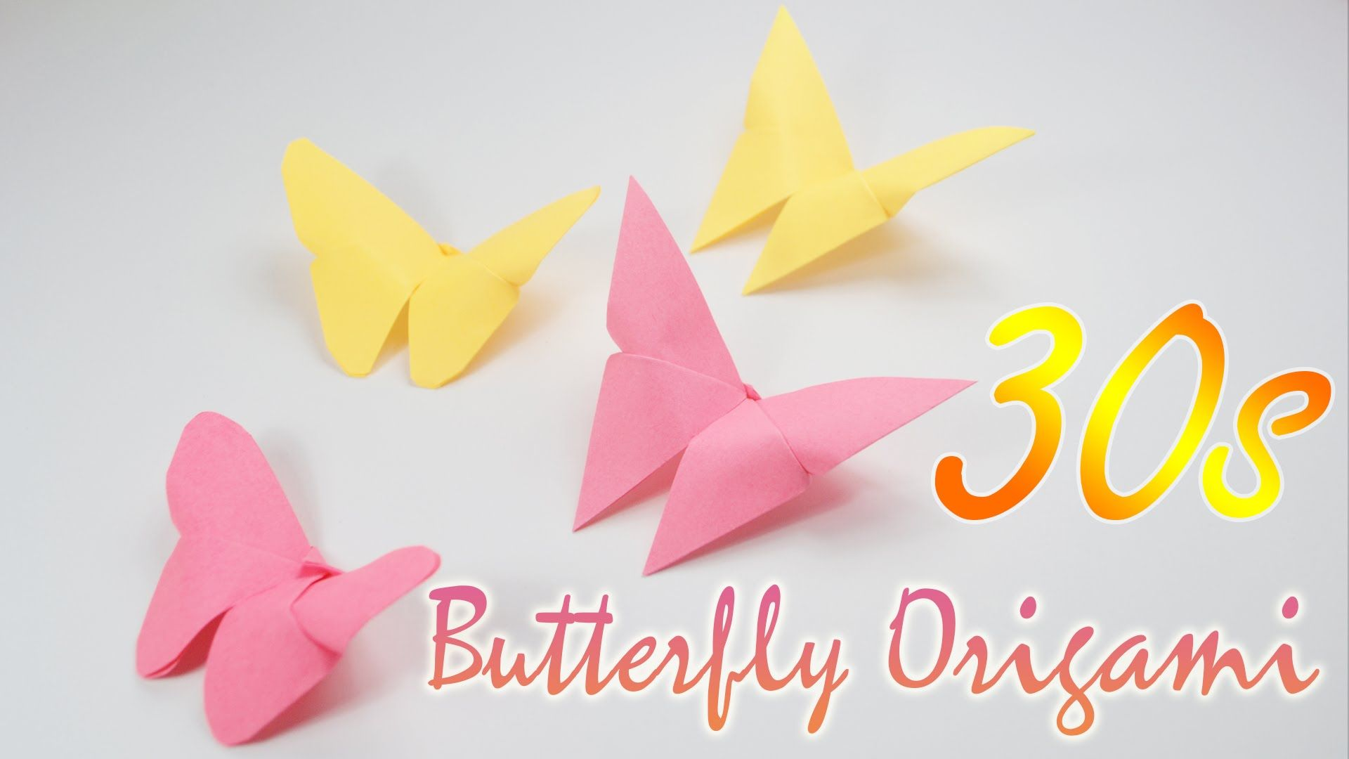 30s origami butterfly very easy origami simple origami for find this pin and more on simple origami for kids jeuxipadfo Gallery