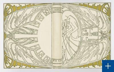 Jan Toorop: band voor Louis Couperus, God en goden (1903)