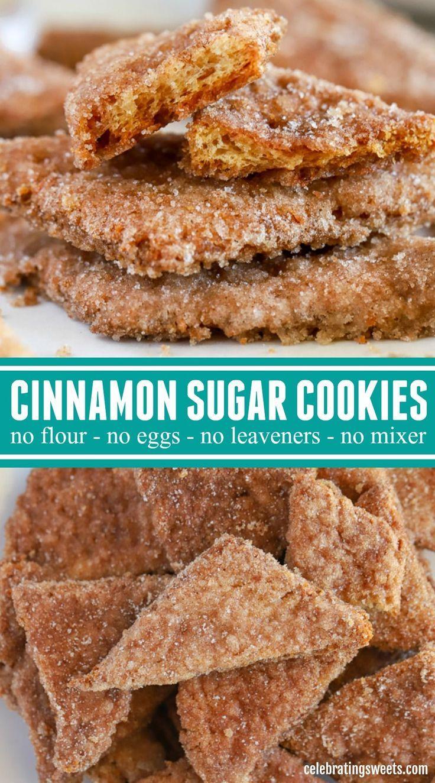 Crispy Cinnamon Sugar Cookies #cinnamonsugarcookies