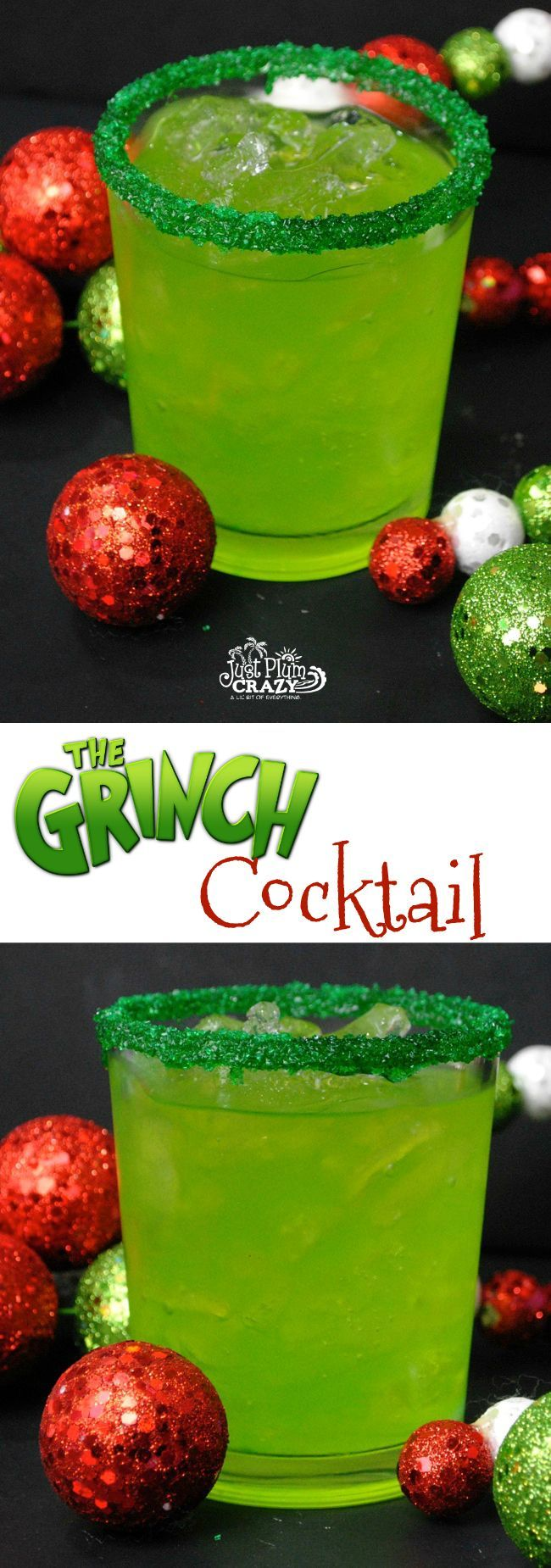 Grinch Cocktail Recipe - A Perfect Homage To Our Favorite Mean One #grinchpunchrecipe