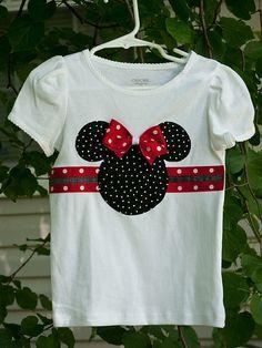 Camiseta decorada - Minnie Mouse
