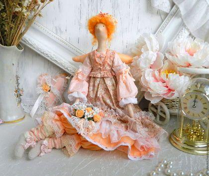 Куклы Тильды ручной работы. Ярмарка Мастеров - ручная работа. Купить Берта. Интерьерная кукла в стиле Тильда.. Handmade. шебби