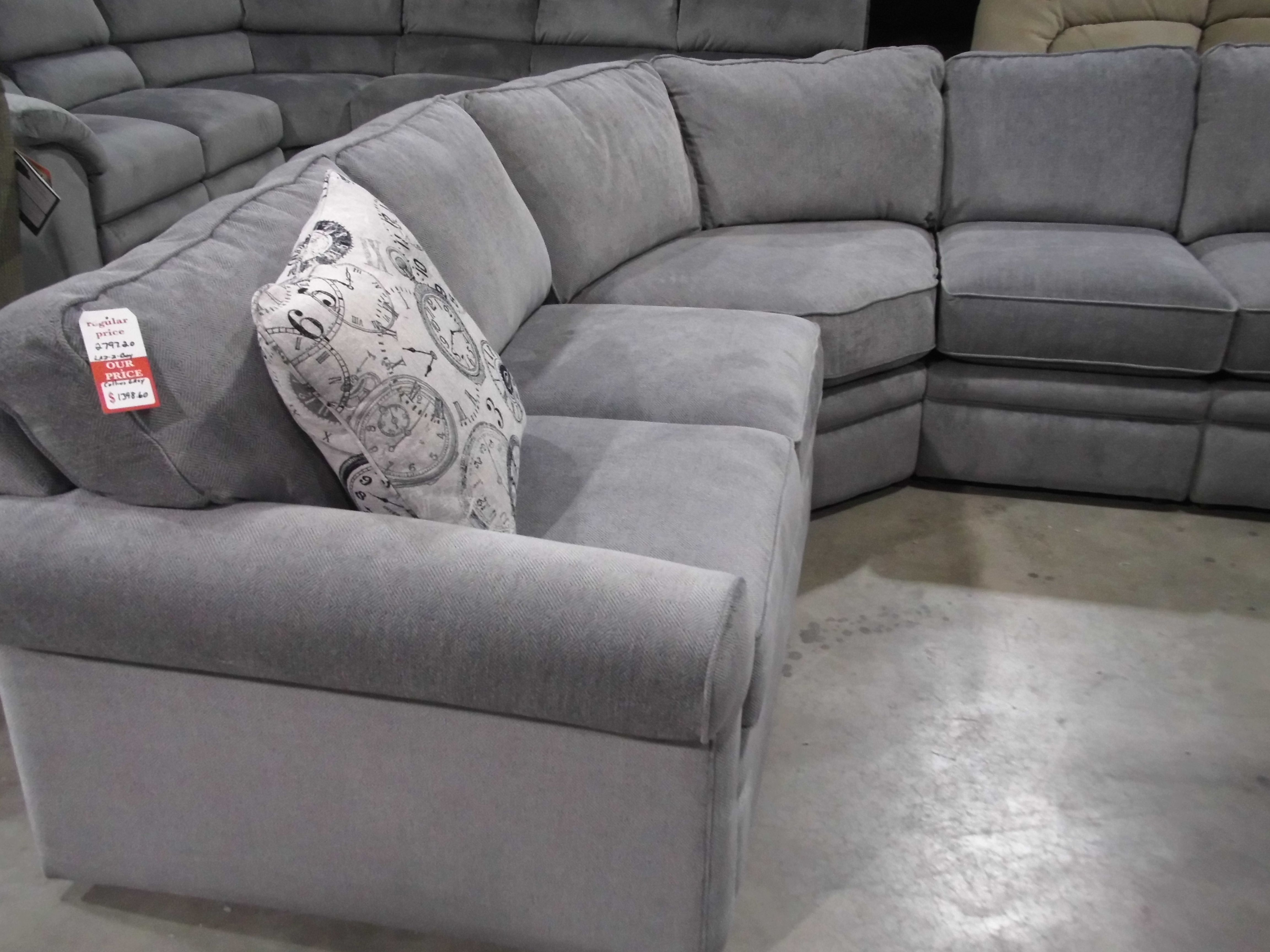 Lazy Boy Collins Sectional Sofa Sectional Sofa With Recliner