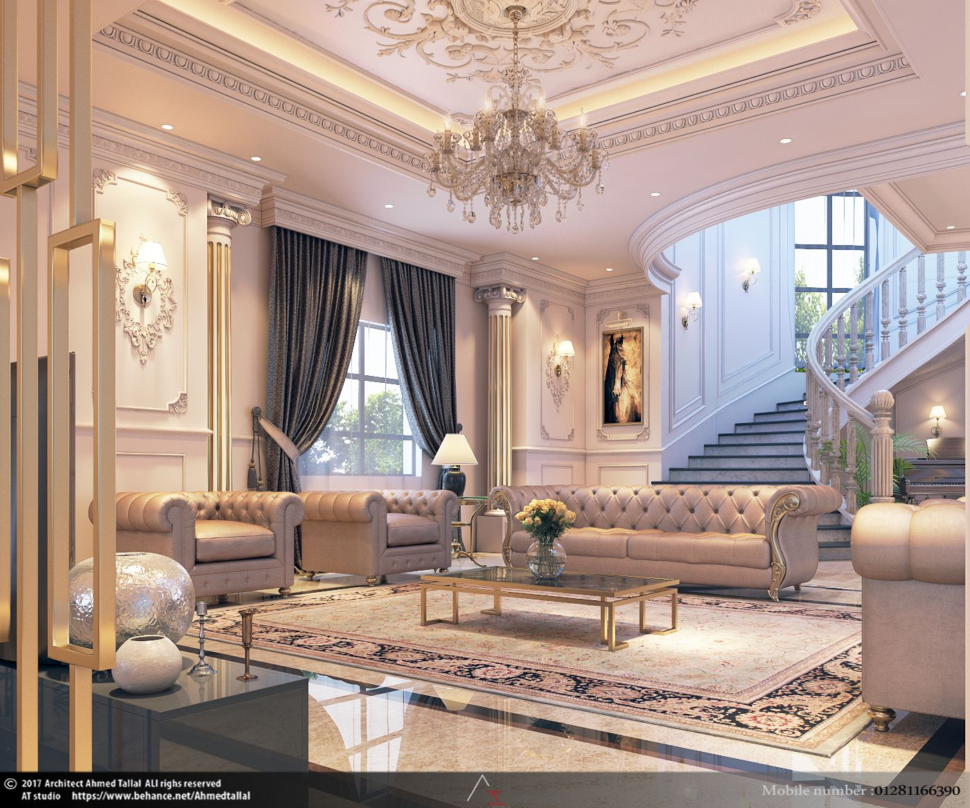 Luxury Homes Interior Decoration Living Room Designs Ideas: In The Heart Of The Maison (With Images)