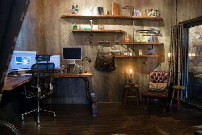 Steampunk Home Design | ... Extreme Steampunk Home Office Designs ...