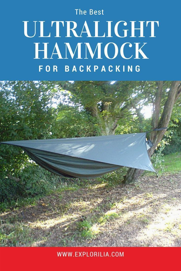 What is the best ultralight backpacking hammock backpacking