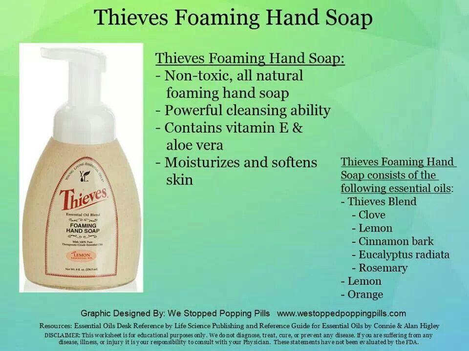 Thieves Hand Soap Essential Oils Pinterest