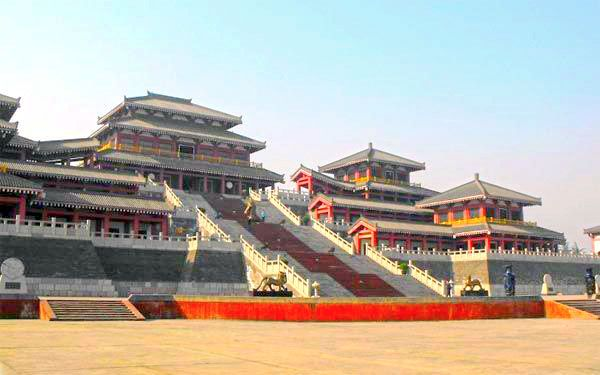 the epang palace xian shaanxi china china palace china tianjin rh pinterest com