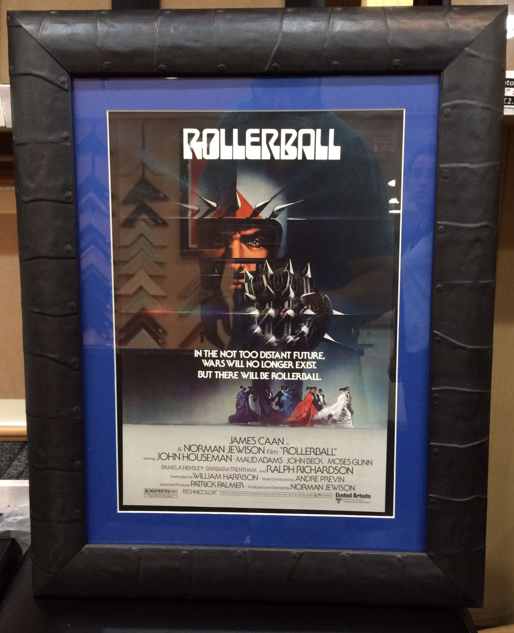 Small Crop Of Movie Poster Frames