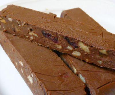 barrette cioccolato e tahini