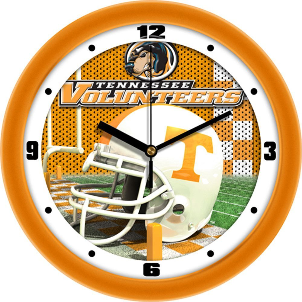 Tennessee Volunteers NCAA Football Helmet Wall Clock