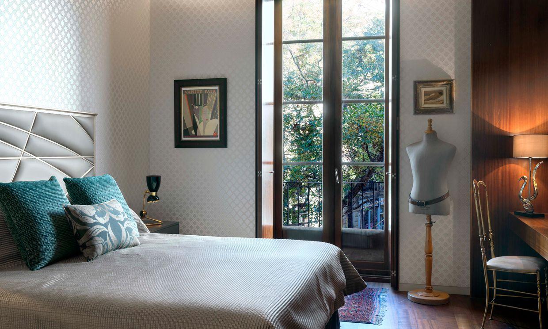 Aire de palacete nobiliario en un céntrico piso de Valencia