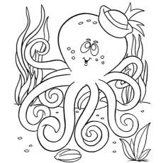 10 Cute Octopus Coloring Pages Your Toddler Will Love to