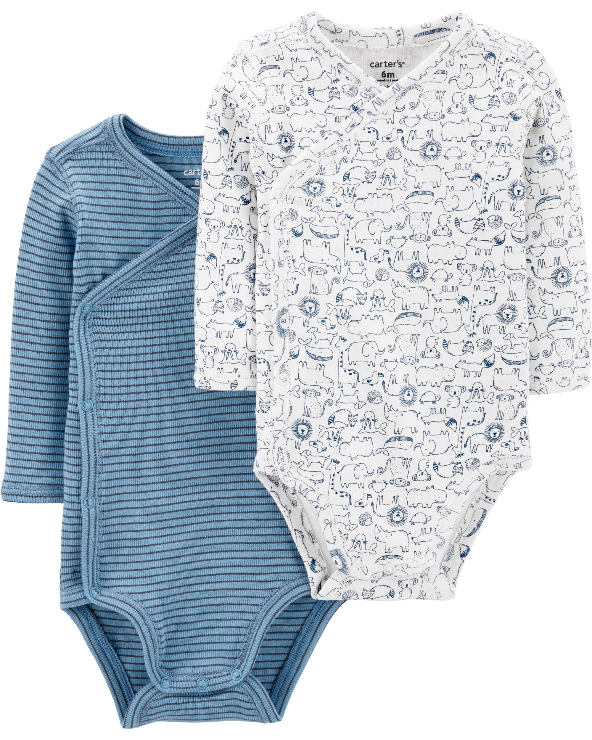 Simple Joys by Carters Baby 4-Pack Side Snap Bodysuit