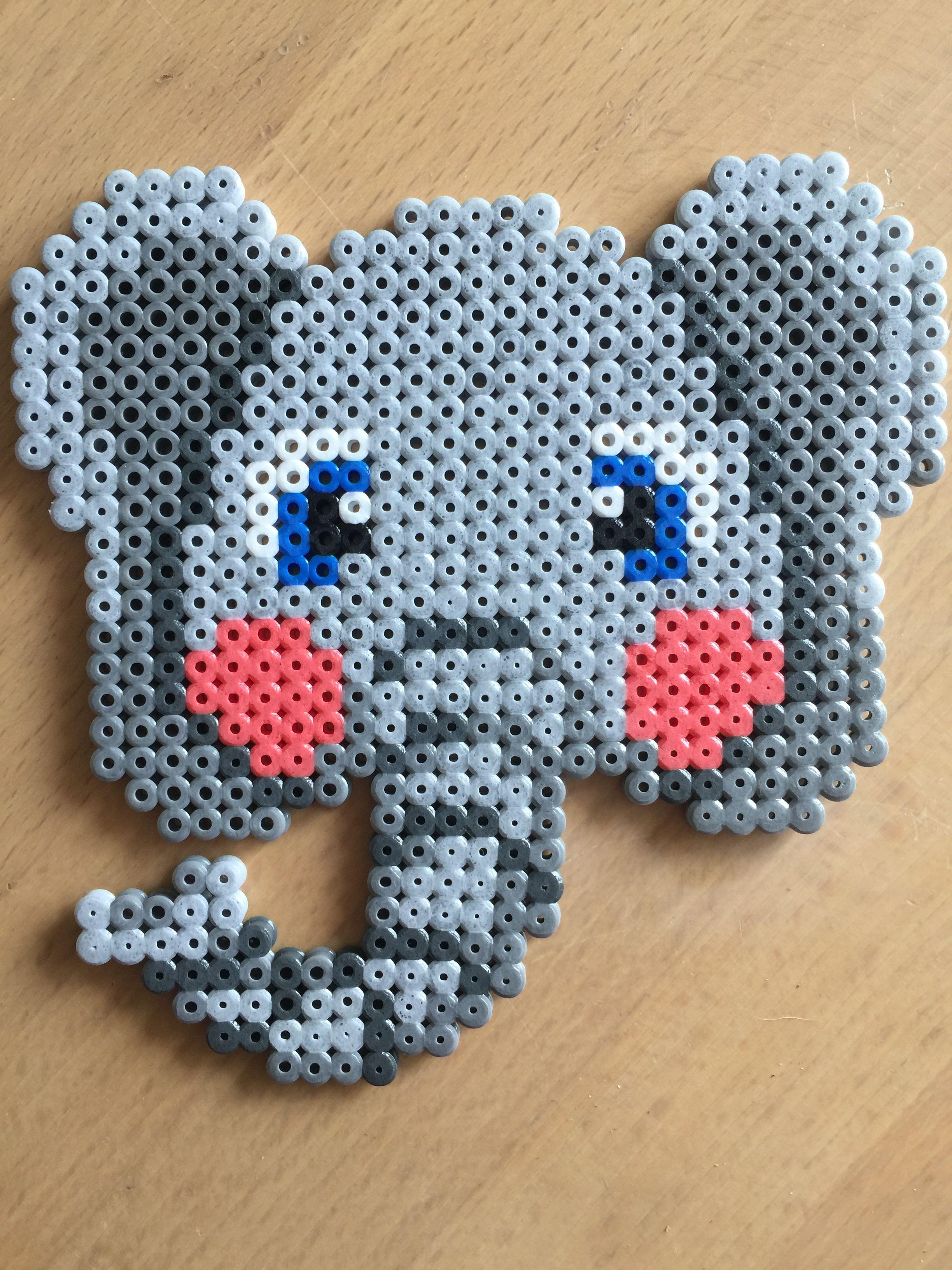 Hama Bugelperlen Midi Elefant Lowe Im Blister 4183 Bei Www