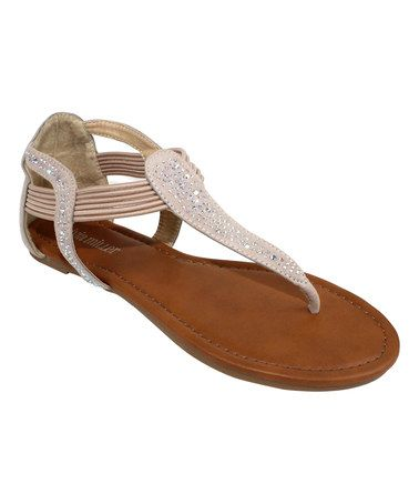 This Natural Vicenza Sandal by OLIVIA MILLER is perfect! #zulilyfinds