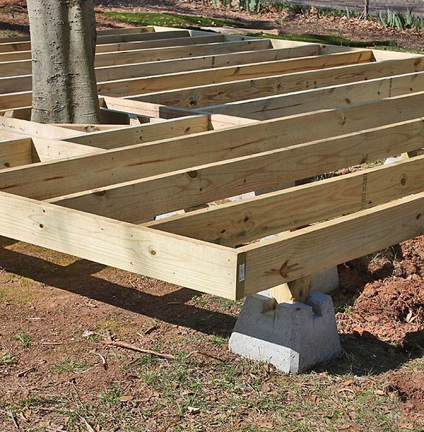 How To Build A Fabulous Diy Floating Deck Building A Floating