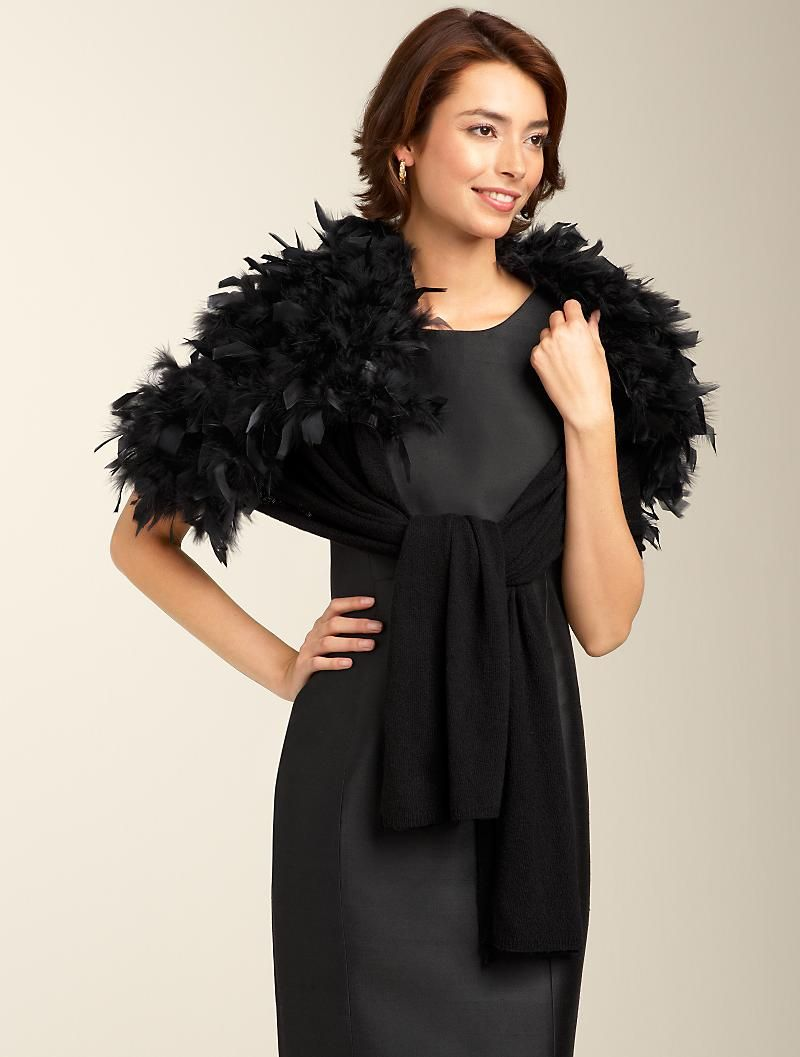 Talbots dresses for weddings  Talbots  Feather u Knit Wrap  Capes u Wraps    My Style