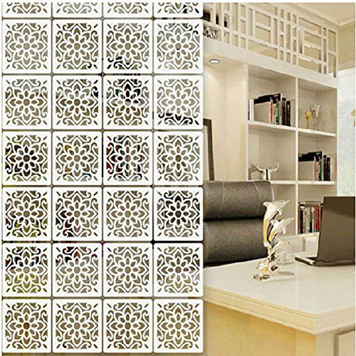 Room Lchen White Wood Plastic 5mm Thick Divider Screen