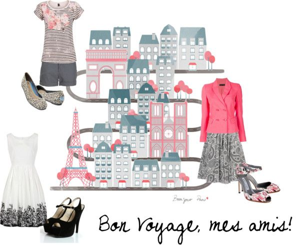 """Bon Voyage"" by tvola5775 ❤ liked on Polyvore"