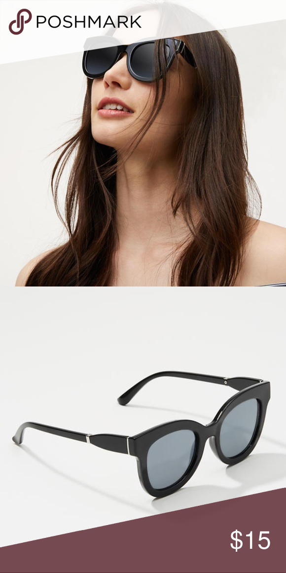 Oversized Sunglasses Cute oversized square cat eye sunglasses. New with  tags 1e44e62d8