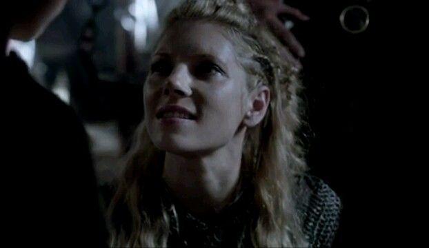 Lagertha meeting Ragnar's sons