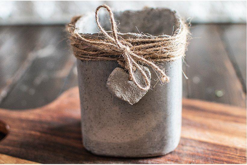 how to make cement pots for a windowsill herb garden diy on indoor herb garden diy wall mason jars id=83488