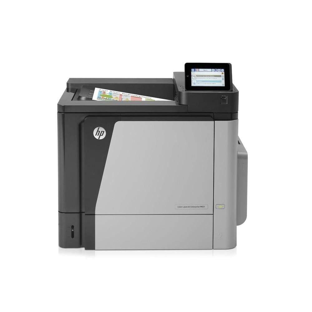 Hp laserjet enterprise m651dn color printer 1200x1200dpi