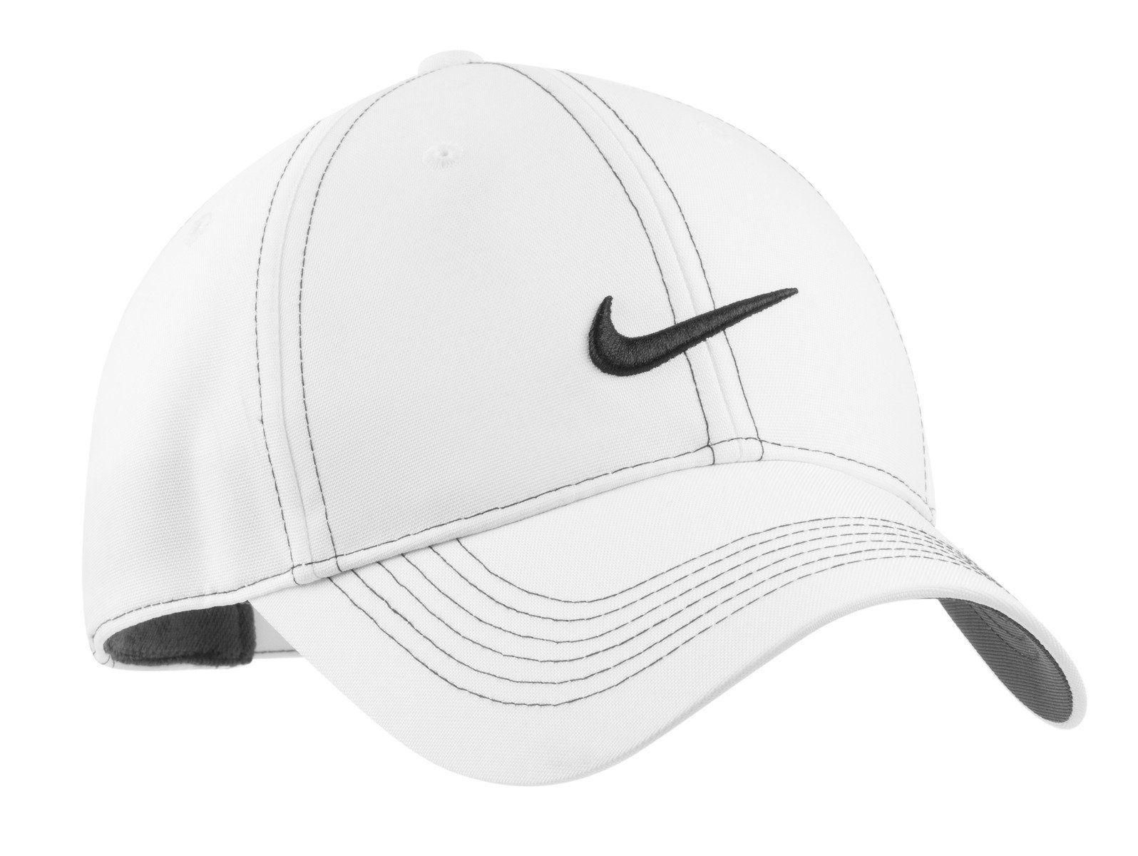 4eddbbc72a3 Nike Golf - Swoosh Front Cap White 333114