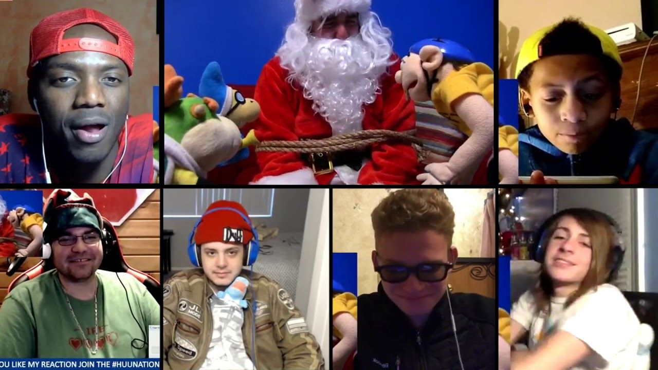 Jeffys Bad Christmas.Sml Movie Jeffy S Bad Christmas Reactions Mashup Youtube