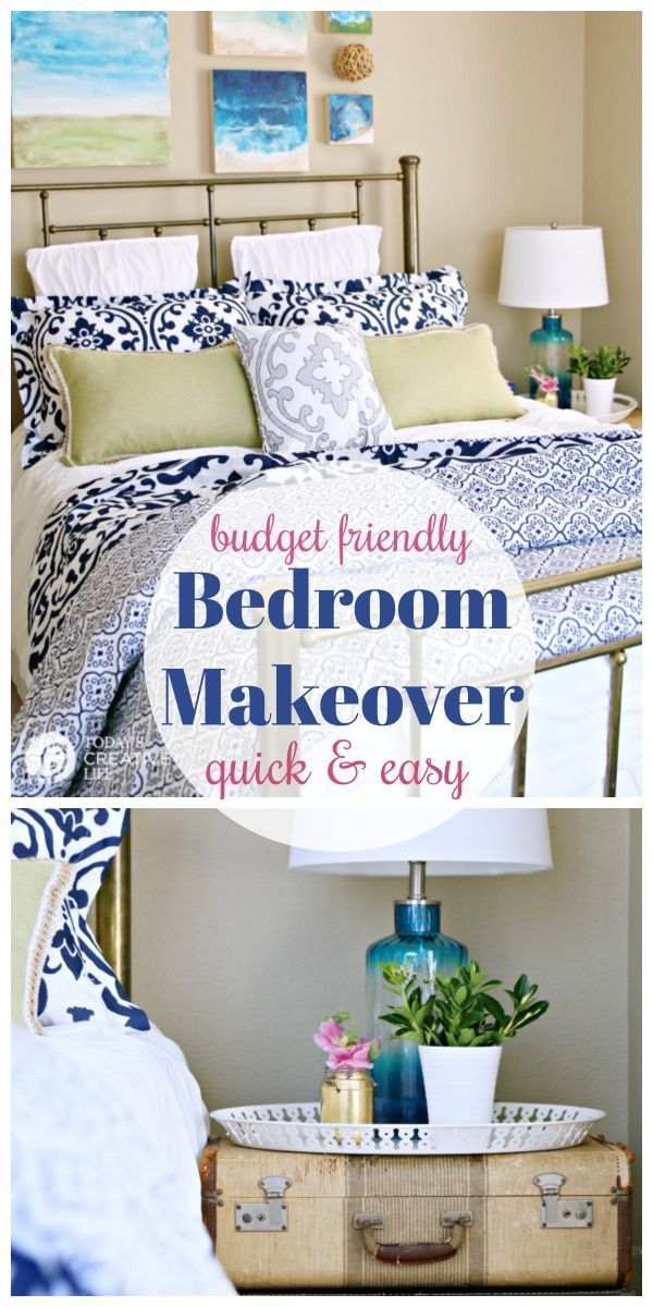Guest Bedroom Ideas On A Budget Bedroom Makeover Before And