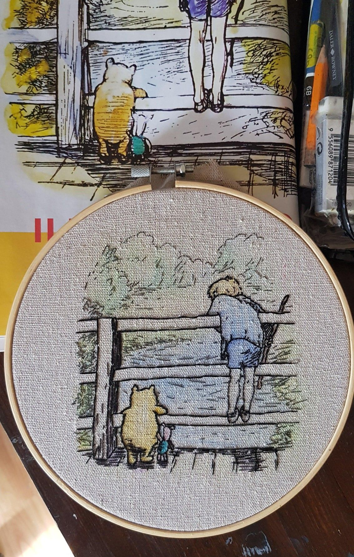 By Stompyboots On Reddit Disney Embroidery Embroidery Inspiration Embroidery Hoop Art