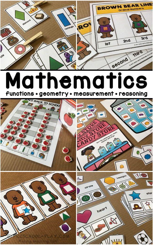 Mathematics Functions · Measurement · Geometry