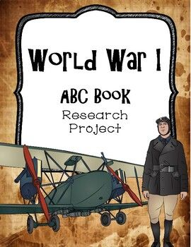 Photo of World War I ABC Book Research Project