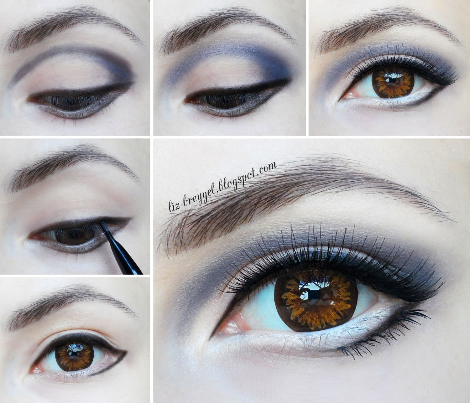Big Anime Eyes Step By Step Makeup Tutorial (With images