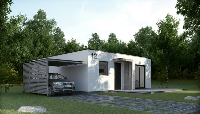 KOMPACT  Minimalist \ Optimized Modular house MINIMALIST - HOME
