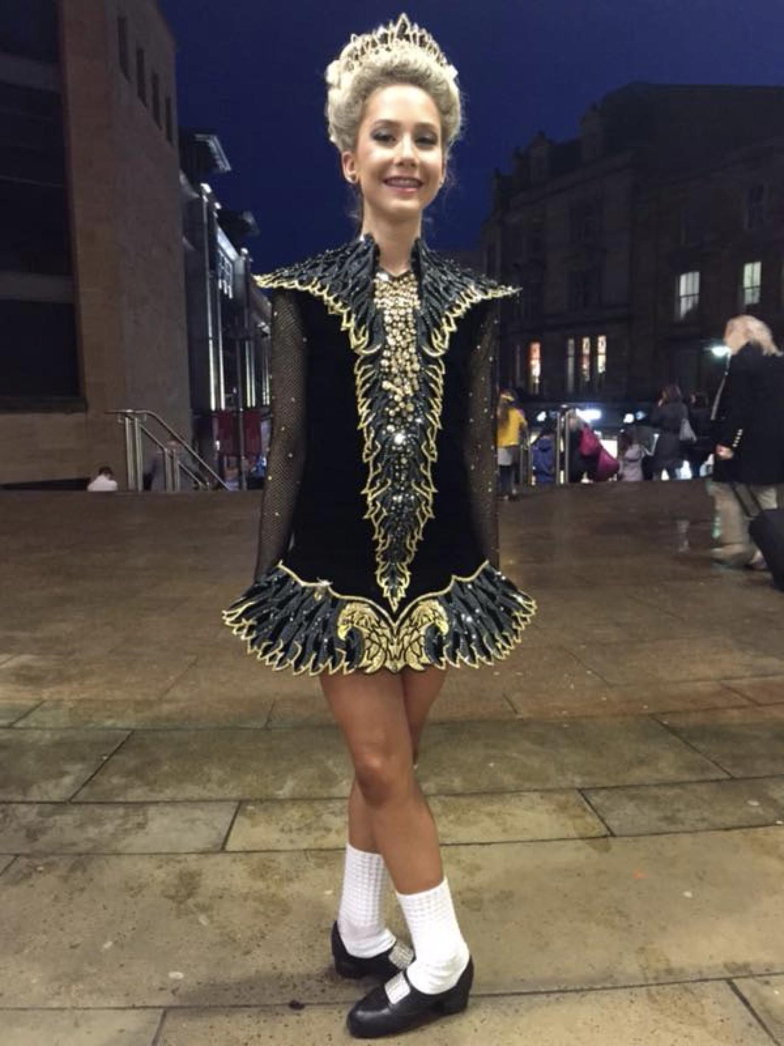 Goldeneire Worlds 2018 Irish Solo Dress Irish Dancing Dresses Irish Dance Costume