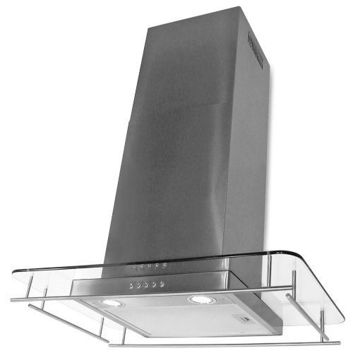 Island Range Hood 4 Speed Touch Sensitive Electronic